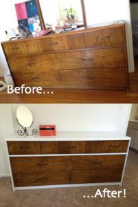 MCM Dresser Upcycle