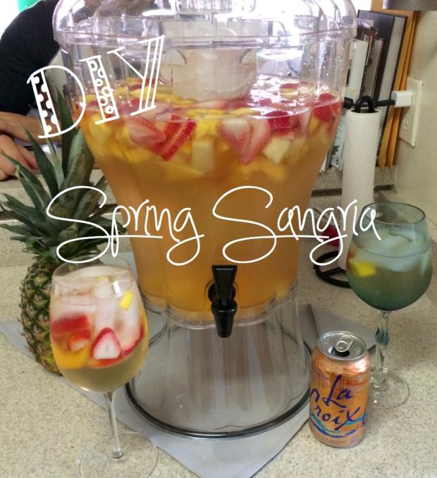 DIY Spring Sangria