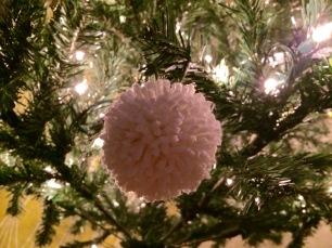 pompom on tree 2